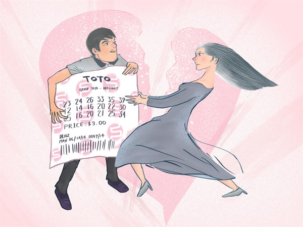 Are lottery winnings matrimonial assets?