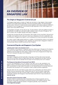 Overview - Singapore Law